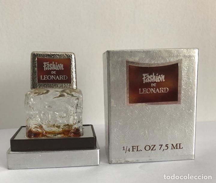 Miniaturas de perfumes antiguos: ANTIGUO FRASCO PERFUME FASHION DE LEONARD - Foto 4 - 120825036