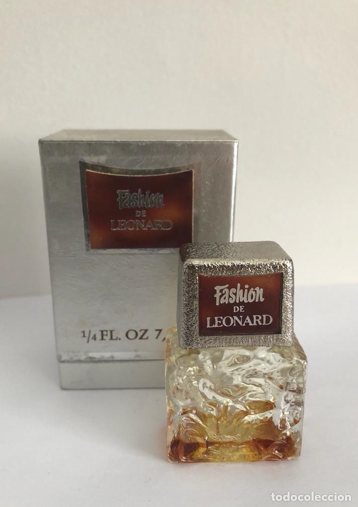 Miniaturas de perfumes antiguos: ANTIGUO FRASCO PERFUME FASHION DE LEONARD - Foto 5 - 120825036