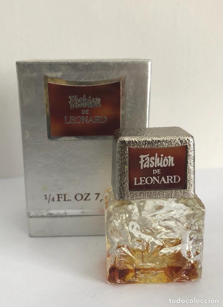 Miniaturas de perfumes antiguos: ANTIGUO FRASCO PERFUME FASHION DE LEONARD - Foto 6 - 120825036