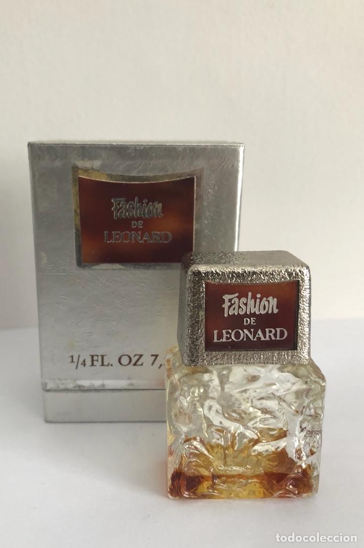 Miniaturas de perfumes antiguos: ANTIGUO FRASCO PERFUME FASHION DE LEONARD - Foto 7 - 120825036
