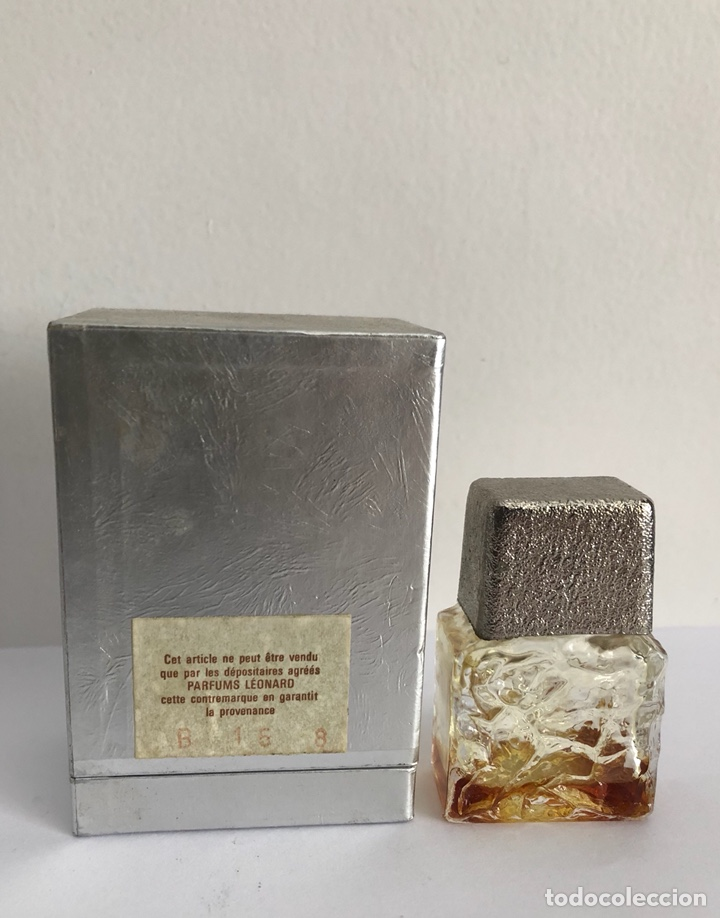 Miniaturas de perfumes antiguos: ANTIGUO FRASCO PERFUME FASHION DE LEONARD - Foto 8 - 120825036