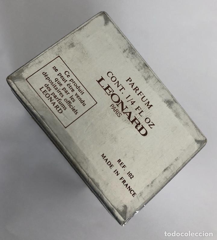 Miniaturas de perfumes antiguos: ANTIGUO FRASCO PERFUME FASHION DE LEONARD - Foto 9 - 120825036