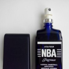 Miniaturas de perfumes antiguos: COLONIA OFICIAL NBA......ORIGINAL AÑOS 80/ VAPORIZADOR. Lote 120927923