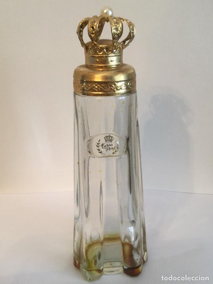 Miniaturas de perfumes antiguos: ANTIGUO FRASCO DE PERFUMEN MYRNA PONS - Foto 4 - 121514606