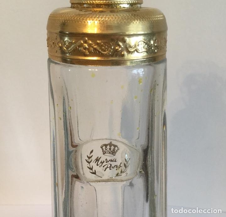 Miniaturas de perfumes antiguos: ANTIGUO FRASCO DE PERFUMEN MYRNA PONS - Foto 5 - 121514606