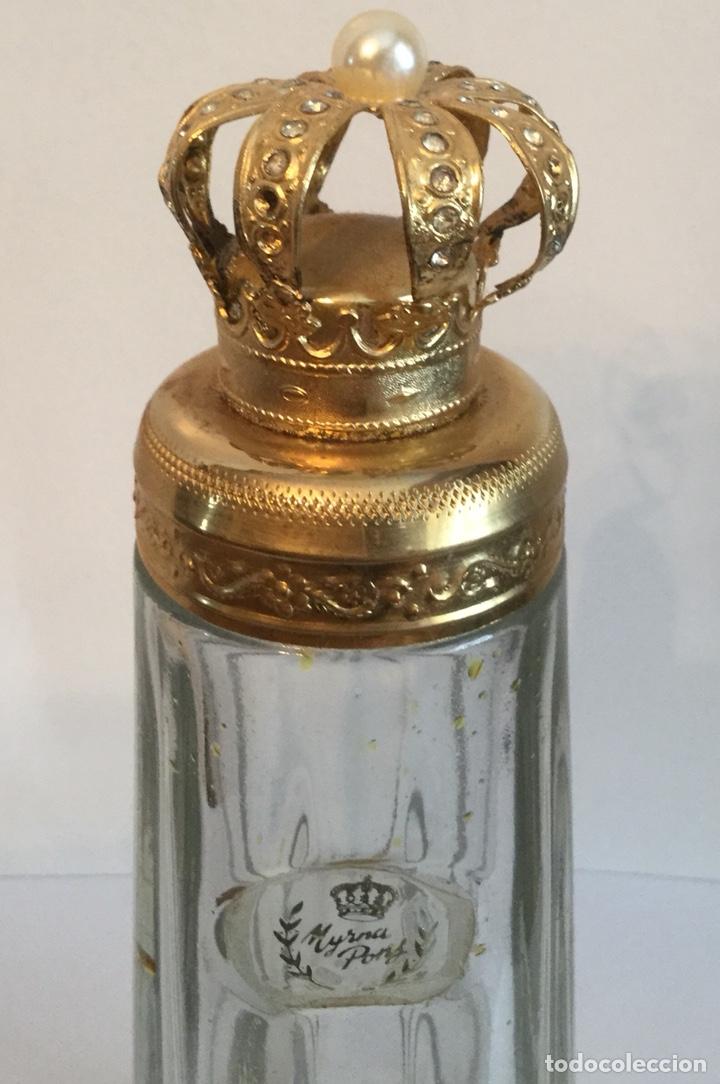 Miniaturas de perfumes antiguos: ANTIGUO FRASCO DE PERFUMEN MYRNA PONS - Foto 6 - 121514606