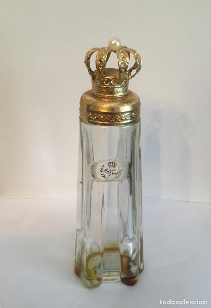 Miniaturas de perfumes antiguos: ANTIGUO FRASCO DE PERFUMEN MYRNA PONS - Foto 7 - 121514606