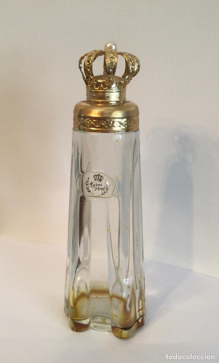 Miniaturas de perfumes antiguos: ANTIGUO FRASCO DE PERFUMEN MYRNA PONS - Foto 8 - 121514606