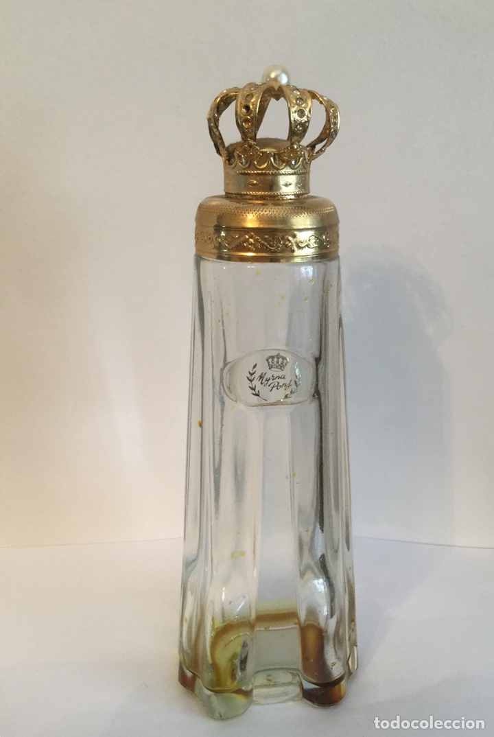 Miniaturas de perfumes antiguos: ANTIGUO FRASCO DE PERFUMEN MYRNA PONS - Foto 9 - 121514606