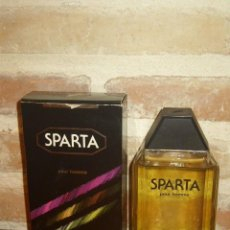 Miniaturas de perfumes antiguos: COLONIA SPARTA 100ML,VAPORIZADOR.DESCATALOGADA. Lote 122295243
