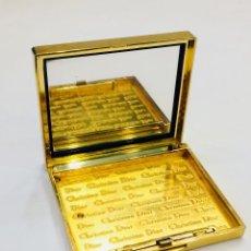 Miniaturas de perfumes antiguos: CAJA DE POLVO CHRISTIAN DIOR ORIGINAL ACCESORIO EXQUISITO. Lote 122710851