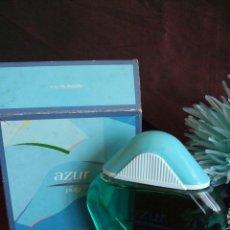 Miniaturas de perfumes antiguos: ANTIGUA COLONIA AZUR DE PUIG. 200ML. FRASCO VINTAGE. PERFUME DE COLECCION. Lote 123026967