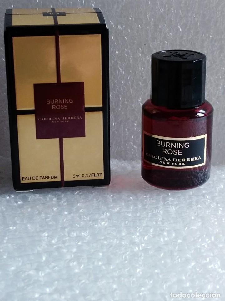 Exclusivo Perfume Miniatura Burning Rose De La Sold Through Direct