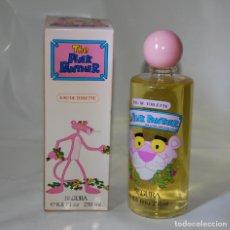 Échantillons de parfums anciens: FRASCO DE COLONIA PANTERA ROSA PINK PANTER 250 ML SIN DESPRECINTAR DE ANTIGUA DROGUERÍA. Lote 125074783