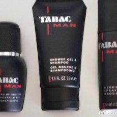 Miniaturas de perfumes antiguos: ESTUCHE TABAC MAN DE MAURE&WIRTZ. Lote 125211143