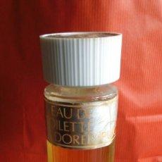 Miniaturas de perfumes antiguos: FRASCO EAU DE TOILETTE DOREE DE PUIG. . Lote 126661359