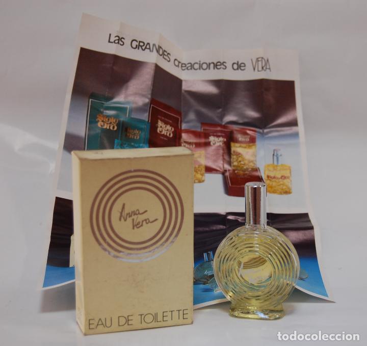Miniaturas de perfumes antiguos: FRASCO DE COLONIA ANNA DE VERA // DE DROGUERÍA PERFUMERIA ANTIGUA - Foto 2 - 142793620