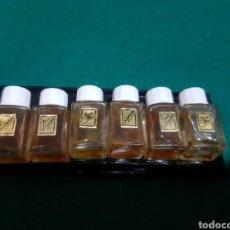 Miniaturas de perfumes antiguos: LOTE DE PERFUMES EN MINIATURA. Lote 128924328
