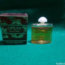 Miniaturas de perfumes antiguos: COLONIA OPIUM YVESSAINTLAURENT. Lote 128925890