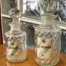 Miniaturas de perfumes antiguos: MÁS, BOTELLAS DE PERFUME. Lote 129225407