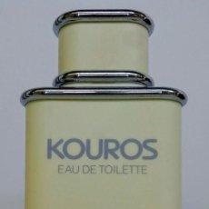 Miniaturas de perfumes antiguos: FICTICIO GIGANTE KOUROS DE YVES SAINT LAURENT. Lote 177777093
