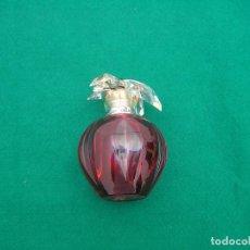 Miniaturas de perfumes antiguos: FRASCO VACÍO DE DELICES - DÈLICES DE CARTIER. 50 ML.. Lote 131086764