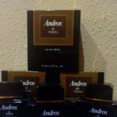 Miniaturas de perfumes antiguos: TRES COLONIAS ANDROS DE PARERA 55 ML!!!!. Lote 131097488