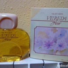 Miniaturas de perfumes antiguos: COLONIA VEREDA FLEUR 200 ML. Lote 131243615
