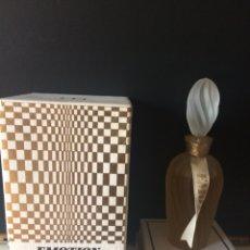 Miniaturas de perfumes antiguos: MUY RARO FRASCO DE PERFUME. EMOTION DE HELENA RUBINSTEIN. 1960.. Lote 131450629
