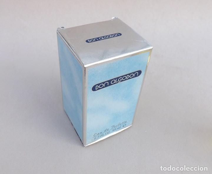 Miniaturas de perfumes antiguos: COLONIA DON ALGODON, MYRURGIA, 50 ML. - Foto 3 - 131595166