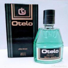Miniaturas de perfumes antiguos: OTELO AFTER SHAVE 100 ML DE MILANO. Lote 136597965