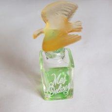 Miniaturas de perfumes antiguos: MINIATURA PERFUME MES DELICES. Lote 132278574