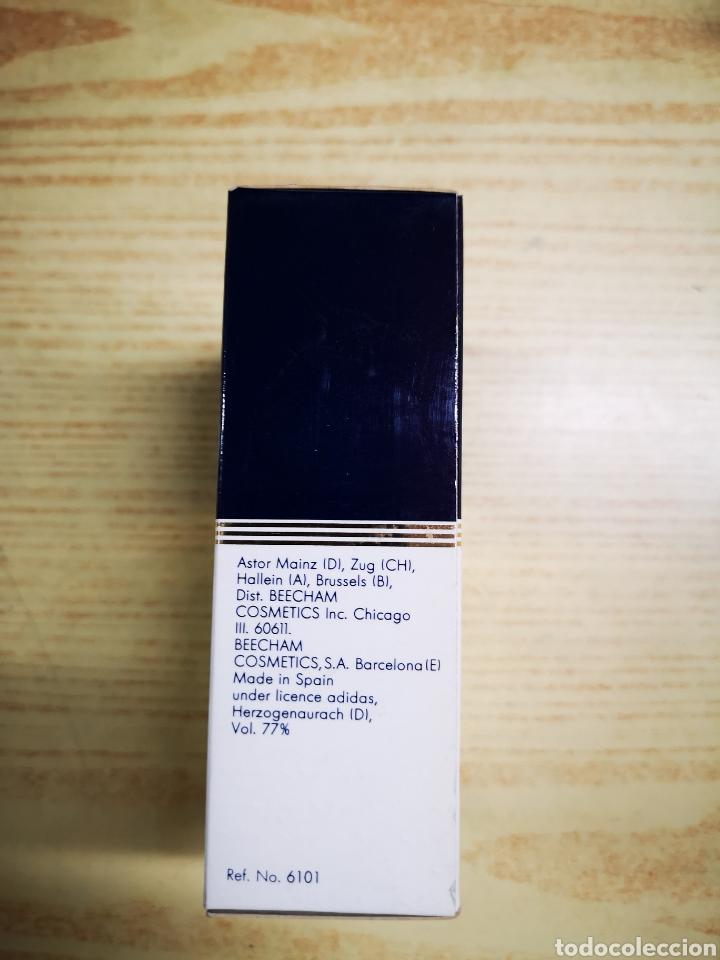 Miniaturas de perfumes antiguos: Adidas colonia 100ml.Colonia llena. - Foto 2 - 132563283