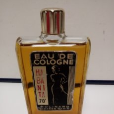 Miniaturas de perfumes antigos: ANTIGUA EAU DE COLOGNE HABANITA 70° MOLINARD GRASSE PARIS. Lote 133864533
