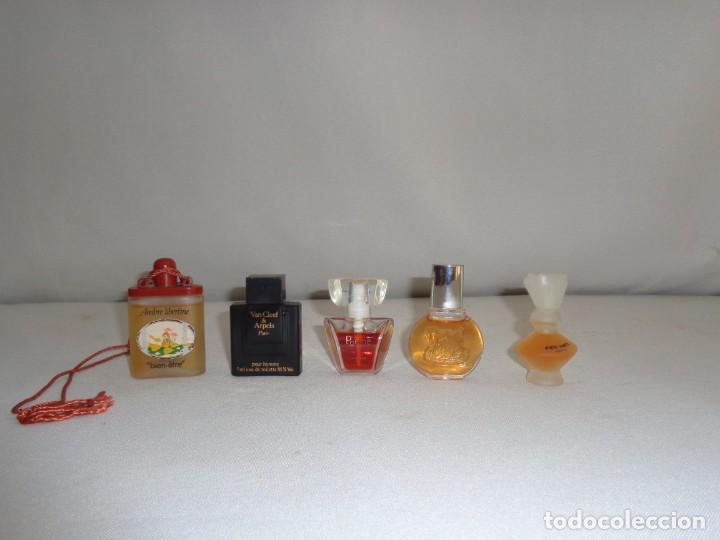 Lote De 5 Miniaturas De Perfumes Ambre Liberti Vendido En