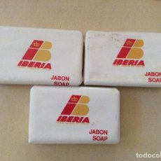 Miniaturas de perfumes antiguos: 3 PASTILLAS DE JABÓN SOAP . Lote 134106778