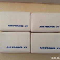 Miniaturas de perfumes antiguos: 4 PASTILLAS DE JABÓN MONT BLANC . Lote 134107490