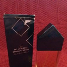 Miniaturas de perfumes antiguos: EAU DE COLOGNE -MY DE MIRURGIA- NATURAL SPRAY. Lote 135415714