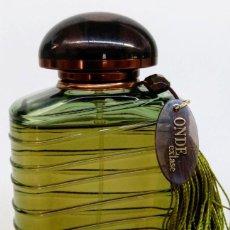 Miniaturas de perfumes antiguos: ONDE EXTASE DE GIORGIO ARMANI EAU DE PARFUM VAPORIZADOR 100 ML. Lote 136026950