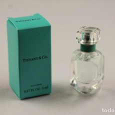 Miniaturas de perfumes antiguos: MINIATURA TIFFANY & CO. EDP 5 ML. Lote 136233194