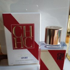 Miniaturas de perfumes antiguos: MINIATURA PERFUME CH MEN SPORT DE CAROLINA HERRERA . Lote 137357048