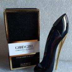 Miniaturas de perfumes antiguos: MINIATURA PERFUME GOOD GIRL EDP CAROLINA HERRERA - VERSIÓN 2018. Lote 137357094