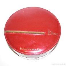 Miniaturas de perfumes antiguos: CHRISTIAN DIOR PARFUMS CAJA ROJA. Lote 144427878