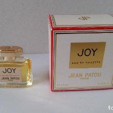 Miniaturas de perfumes antiguos: MINIATURA JOY DE JEAN PATOU. Lote 137894102
