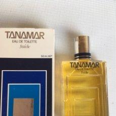 Miniaturas de perfumes antiguos: EAU DE TOILLETE TANAMAR. Lote 137915405