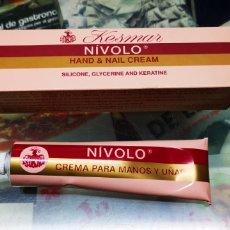 Miniaturas de perfumes antiguos: KESMAR NIVOLO CREMA DE MANOS.SIN USAR.. Lote 138556622