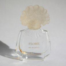 Miniaturas de perfumes antiguos: MINIATURA DE PERFUME FLORE DE CAROLINA HERRERA 4ML. 6 CM. VACÍA.. Lote 138562006