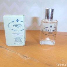 Miniaturas de perfumes antiguos: MINIATURA IRIS - LAS INFUSIONES DE PRADA 8 ML. Lote 138654498