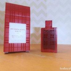 Miniaturas de perfumes antiguos: MINIATURA BURBERRY BRIT RED 5 ML. Lote 138657454