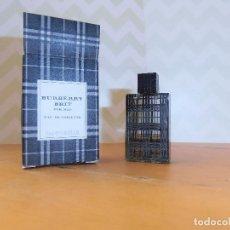 Miniaturas de perfumes antiguos: MINIATURA BURBERRY BRIT FOR MEN 5 ML. Lote 138657778